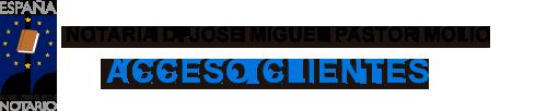 Notaria Jose Miguel Pastor Molio